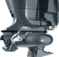 Подвесной водометный лодочный мотор