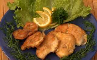 Рыба жареная в кляре пошаговый рецепт