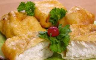 Пожарить рыбу в кляре на сковороде