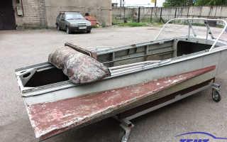 Сколько весит лодка казанка с булями