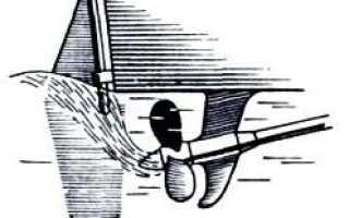 Установка датчика эхолота на транец лодки пвх