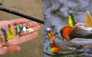 Рыбалка на джиг головку