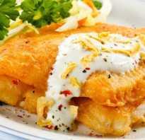 Рыба в кляре видео рецепт