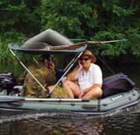 Лодка надувная bark