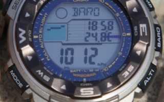 Часы касио с барометром