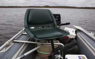 Сиденье для лодки пвх своими руками
