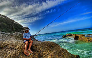 Универсальная удочка для рыбалки