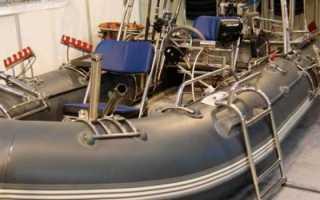 Модернизация лодки пвх