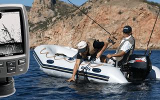 Эхолот для лодки