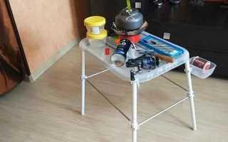 Самодельный столик для рыбалки