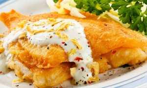 Тесто для рыбы в кляре