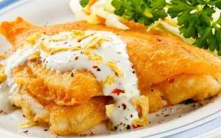 Рыба в кляре простой рецепт